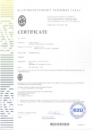 Certificate ESČ