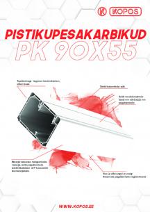Pistikupesakarbikud PK 90X55 D_HD, PK 90X55 D HF_HD