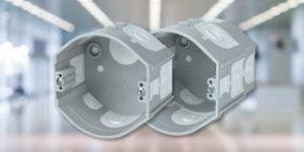 KP 68/D_KA and KPR 68/D_KA electrical installation instrument boxes under parget