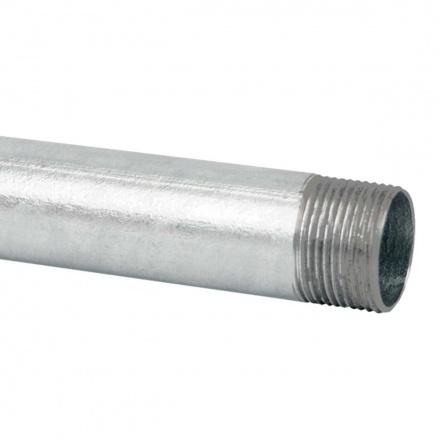 6050 ZN F - ocelová trubka závitová žárově zinkovaná (EN)