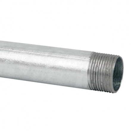 6040 ZNM S - ocelová trubka závitová pozinkovaná (EN)
