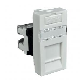 QD 45X22.5-RJ-45/6 HB - zásuvkový modul QUADRO - zásuvka datová s koncovkou RJ-45/6