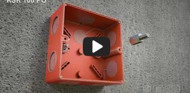 Embedded thumbnail for Paigutatud juhtpaneeli pisipildi tulekindla funktsionaalsusega harukarp KSK 100 PO