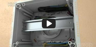 Embedded thumbnail for Paigaldamise pisipilt paigalduse juhendile universaalne harukarp KUZ-VO avatava kaanega
