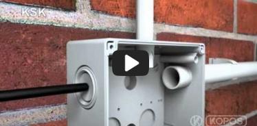 Embedded thumbnail for Paigaldamise pisipilt paigaldusjuhendi harukarbile KSK IP 66 kaitsega