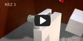 Embedded thumbnail for Paigaldatud pisipilt paigaldusjuhiste jaoks mitme juhtme paigaldamiseks soojusisolatsiooni sisse KEZ-3