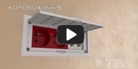Embedded thumbnail for Integreeritud pisipildi paigaldusjuhendi mitmeotstarbeline harukarbi KOPOBOX mini B