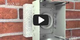 Embedded thumbnail for Paigaldamise juhiste universaalse harukarbi KUZ-VI paigaldamise pisipilt koos kaanega soojusisolatsiooni sisse